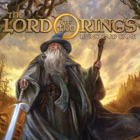 Game Box for The Lord of the Rings: Adventure Card Game (PS4)