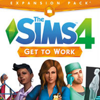 Okładka The Sims 4: Get to Work (PC)