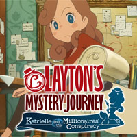 Okładka Layton's Mystery Journey: Katrielle and the Millionaires' Conspiracy - Deluxe Edition (Switch)