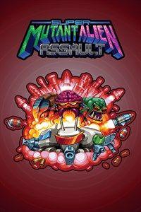 Game Box for Super Mutant Alien Assault (PC)
