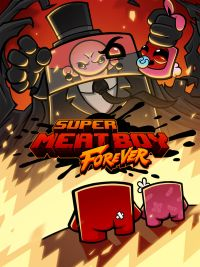 Super Meat Boy Forever (XONE cover