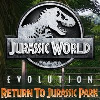Game Box for Jurassic World Evolution: Return to Jurassic Park (PC)
