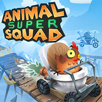 Game Box for Animal Super Squad (PC)