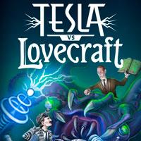 Okładka Tesla vs Lovecraft (AND)