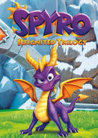 Okładka Spyro Reignited Trilogy (PS4)
