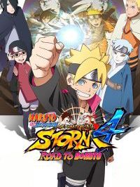 Game Box for Naruto Shippuden: Ultimate Ninja Storm 4 - Road to Boruto (Switch)