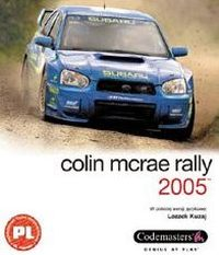 Okładka Colin McRae Rally 2005 (PC)
