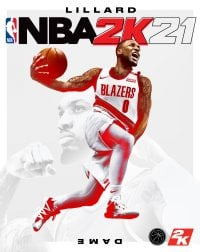 Okładka NBA 2K21 (PC)