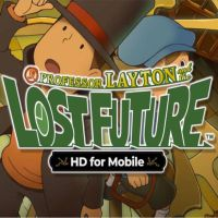 Okładka Professor Layton and the Lost Future HD (AND)
