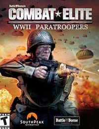 Game Box for Combat Elite: WWII Paratroopers (XBOX)