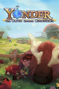 Okładka Yonder: The Cloud Catcher Chronicles (Switch)