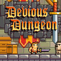 Game Box for Devious Dungeon (PS4)