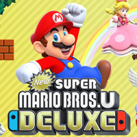 Okładka New Super Mario Bros. U Deluxe (Switch)
