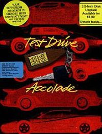 Okładka Test Drive (1987) (PC)