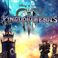 Game Box for Kingdom Hearts III (PS4)