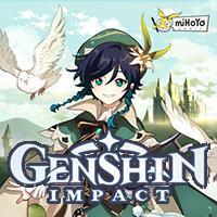 Okładka Genshin Impact (AND)