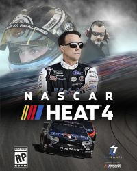 Game Box for NASCAR Heat 4 (PS4)