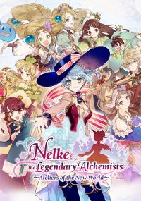 Okładka Nelke & the Legendary Alchemists: Ateliers of the New World (Switch)