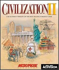 Game Box for Sid Meier's Civilization II (PC)