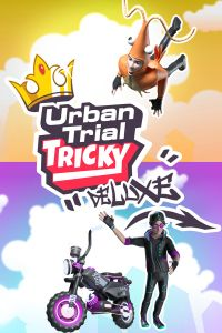Urban Trial Tricky: Deluxe Edition (PC cover