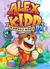 Game Box for Alex Kidd in the Miracle World DX (PS4)