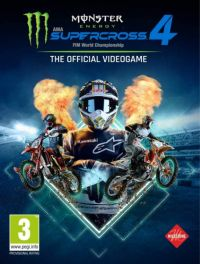 Game Box for Monster Energy Supercross: The Official Videogame 4 (PC)