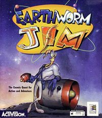 Okładka Earthworm Jim (PC)
