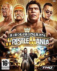 Okładka WWE Legends of WrestleMania (X360)