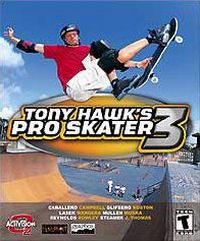 Game Box for Tony Hawk's Pro Skater 3 (PC)