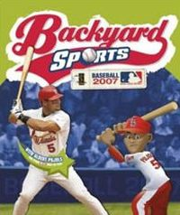 Game Box for Backyard Baseball 2007 (PC)