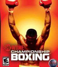 Okładka Showtime Championship Boxing (Wii)