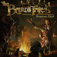Game Box for The Bard's Tale IV: Barrows Deep (PC)