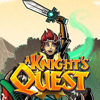 Game Box for A Knight's Quest (PC)