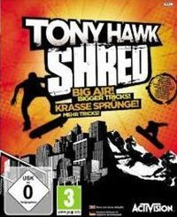 Okładka Tony Hawk: SHRED (PS3)