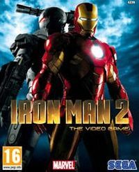 Okładka Iron Man 2 (PS3)