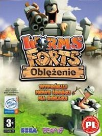 Game Box for Worms Forts Under Siege (PC)
