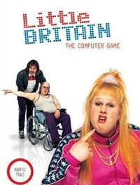 Game Box for Little Britain: The Video Game (PS2)