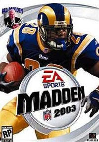 Okładka Madden NFL 2003 (PC)
