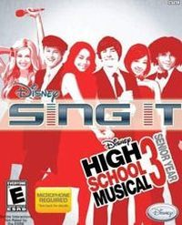 Okładka Disney Sing It: High School Musical 3: Senior Year (PS2)