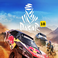 Game Box for Dakar 18 (PS4)