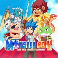 Game Box for Monster Boy and the Cursed Kingdom (PC)
