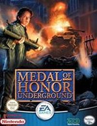 Game Box for Medal of Honor: Underground (PS1)