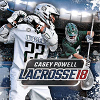 Game Box for Casey Powell Lacrosse 18 (PC)