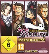 Okładka Ace Attorney Investigations: Miles Edgeworth (NDS)
