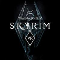 Game Box for The Elder Scrolls V: Skyrim VR (PS4)
