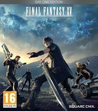 Okładka Final Fantasy XV (PS4)