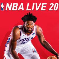 Okładka NBA Live 20 (XONE)