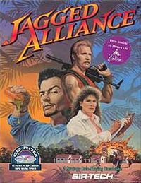 Okładka Jagged Alliance (NDS)