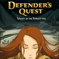 Game Box for Defender's Quest: Valley of the Forgotten (PC)