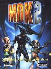 Game Box for MDK 2 (PC)